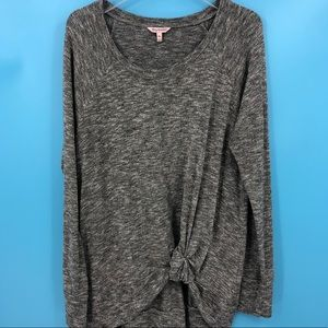 Juicy Couture Women's XL Heather Gray Tunic Top